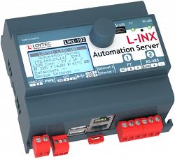 LINX-102 Сервер Автоматизации с разъемом LIOB-Connect и встроенным RNI