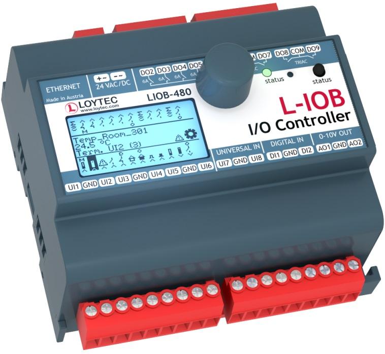 Программируемый контроллер LIOB-480