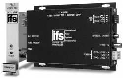 """Передатчик видео с приёмом односторонних данных типа """"токовая петля"""" IFS VT1410"""