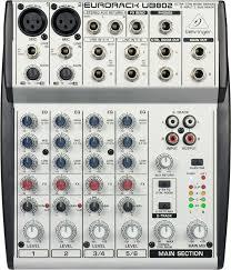 Пульт микшерный Behringer UB802