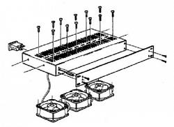 Модуль вентиляторов охлаждения - Teleste CFU014