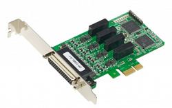 4-портовая плата MOXA CP-134EL-A-I w/o cable