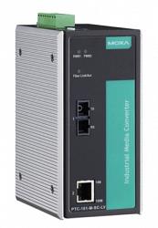 Медиаконвертер Ethernet MOXA PTC-101-M-SC-LV