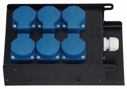 Блок розеток IMLIGHT BRM-6G 5м