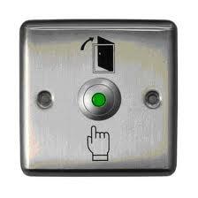 Кнопка металлическая с подсветкой Smartec ST-EX110L