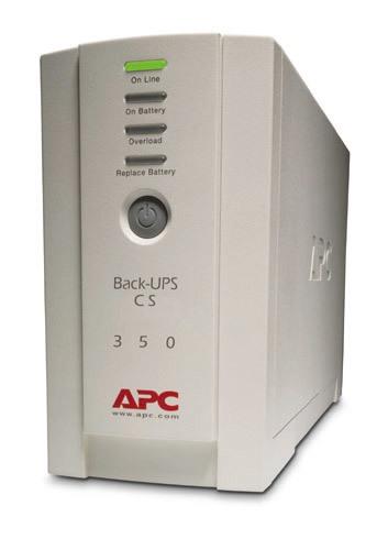 Источник бесперебойного питания APC Back-UPS 350, 230 В BK350EI