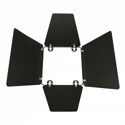 Шторки для светильников Elation Barndoor for TF1000 black