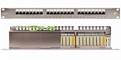 """Коммутационная панель NIKOMAX 19"""", 1U, 48 портов NMC-RP48SE2-1U-MT"""