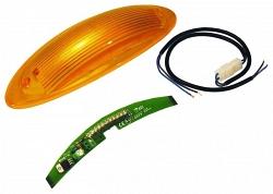 Сигнальная лампа на тумбы шлагбаумов 001G4040Z, 001G2080Z -  CAME G02801