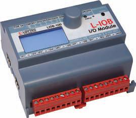 Модуль I/ O LonMark TP/ FT‑10 с физическими входами и выходами LIOB-150