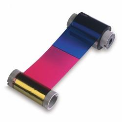Полноцветная ПОЛУпанельная лента Fargo 84816