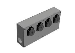 Блок разъемов проходной IMLIGHT БРП-6(CEE16A)
