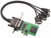 Мультипортовая плата MOXA CP-104EL-A-DB9M