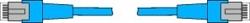 P1BL Патч-Корд Cat5 1м - Esser 583481