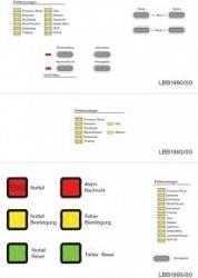 Набор наклеек для устройств Plena VAS на русском языке BOSCH PLN-VASLB-RU