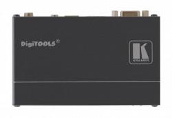 Передатчик VGA, RS-232 и аудио-сигналов TP-125EDID