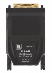 Волоконно-оптические передатчик и приемник DVI Kramer 614R/T
