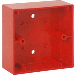 База накладного монтажа для малого РПИ, красная - Esser 704980