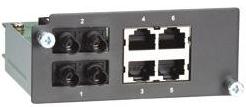 Модуль MOXA PM-7200-2MST4TX