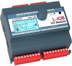 Модуль I/ O с физическими входами и выходами LIOB-103