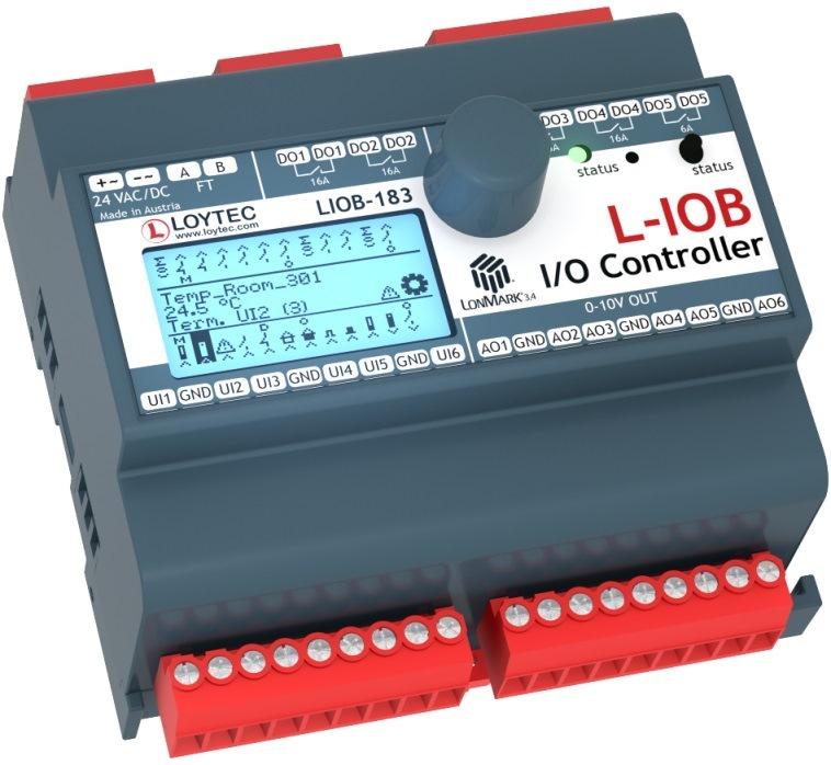 Программируемый контроллер  LIOB-183