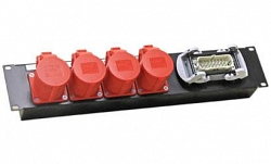 Блок розеток IMLIGHT BR-4 HART 16/CEE4P16-4