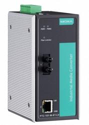 Медиаконвертер Ethernet MOXA PTC-101-M-ST-LV