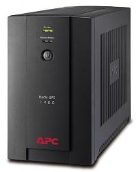 ИБП APC Back-UPS 1400 ВА, 230 В, авторегулировка напряжения, разъемы IEC BX1400UI
