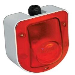 Оповещатель охранно-пожарный световой  ОПОП 1-5-12/24 (серый)