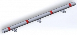 Колесоотбойник КО-76.2.000 СБ НПС-Автоматика
