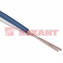 Провод кроссировочный ПКСВ  2х0.40 мм (Rexant 01-5510)