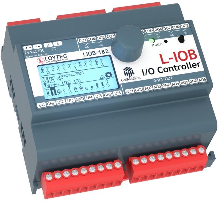 Программируемый контроллер LIOB-182