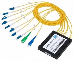 Оптический делитель Gigalink GL-SP-PLC-1x02-SBOX-SC