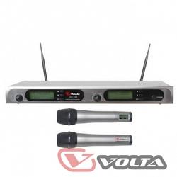 Многоканальная микрофонная система Volta US-102 with aluminuim case (600-636MHZ)