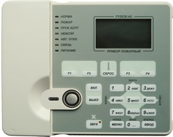 Прибор приемно-контрольный пожарный адресный Рубеж-4А