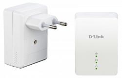 Комплект их 2-х адаптеров D-Link DHP-209AV