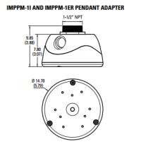 Настенный кронштейн Pelco IMPPM-1I