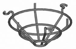 Защитная металлическая решетка для извещателей MagicSens BOSCH SK 400