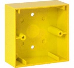 База накладного монтажа для малого РПИ, желтая - Esser 704982