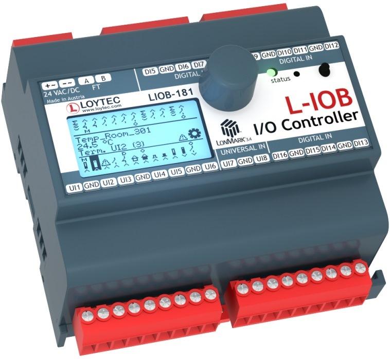 Программируемый контроллер LIOB-181