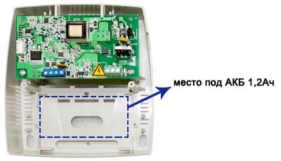 Блок резервного питания СКАТ-1200А пластмассовый корпус