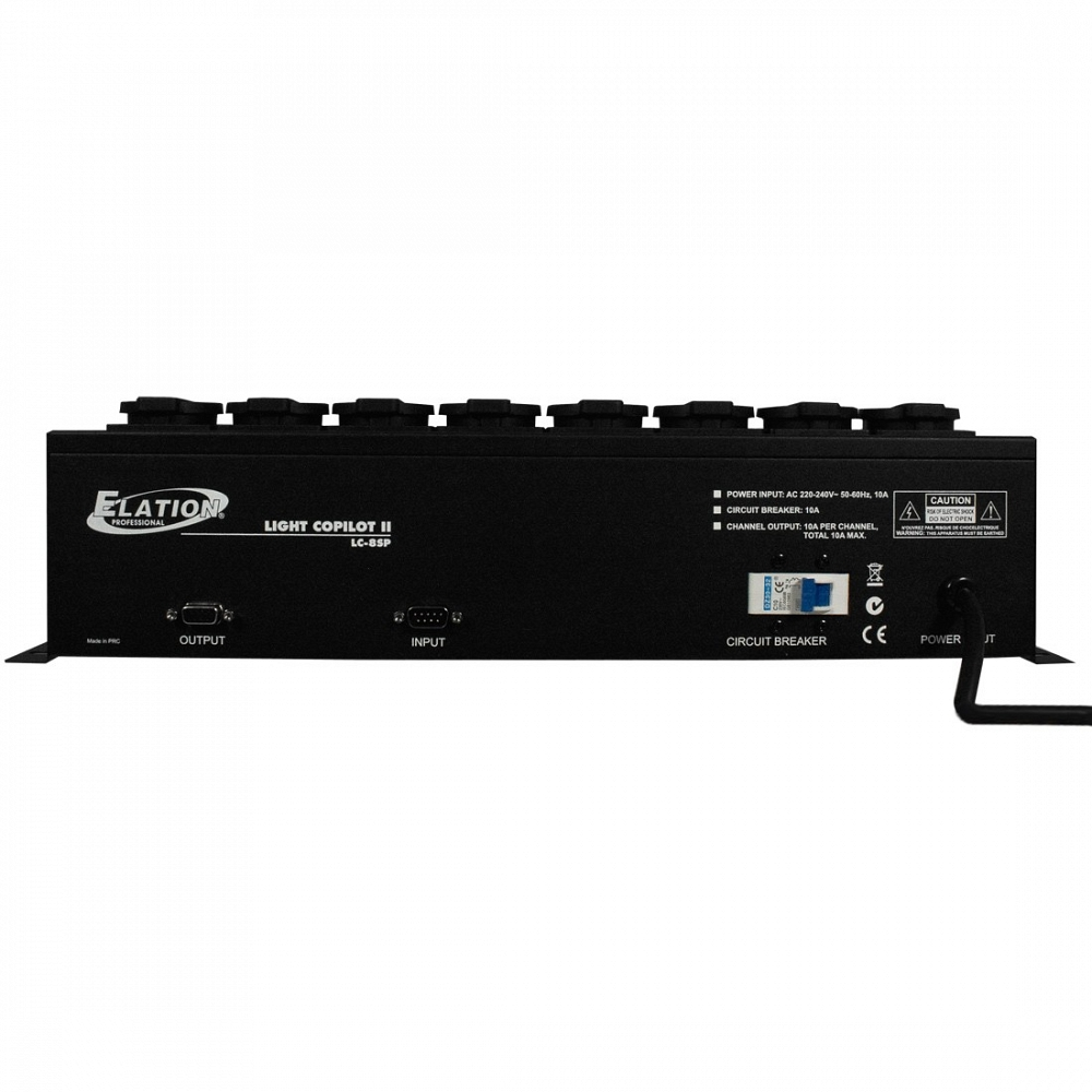 Блок питания Elation LC-8SP 8-Ch. Power Pack light copilot