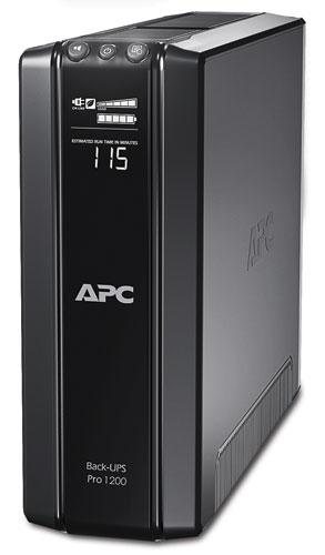 APC Back-UPS Pro 1200 с функцией энергосбережения, 230 В BR1200GI