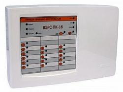 Прибор приемно-контрольный охранно-пожарный ВЭРС-ПК 16П версия 3.2