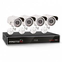 Комплект видеонаблюдения Proto-X Proto-X Combo-AHD 4W