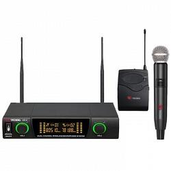 VOLTA US-2 (490.21/629.40) Микрофонная радиосистема с двумя ручными динамическими микрофонами