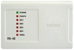 Устройство приемно-контрольное c GSM коммуникатором БОЛИД УО-4С исп.02