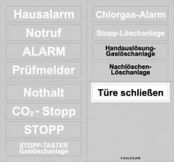 Прозрачные пленки для печати верхних значков BOSCH FMC-FST-DE