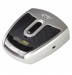 2- и 4-портовые USB 2.0 периферийные переключатели для PC и Mac  -   ATEN   US221A