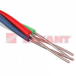 Провод кроссировочный ПКСВ  4х0.50 мм (Rexant 01-5513)